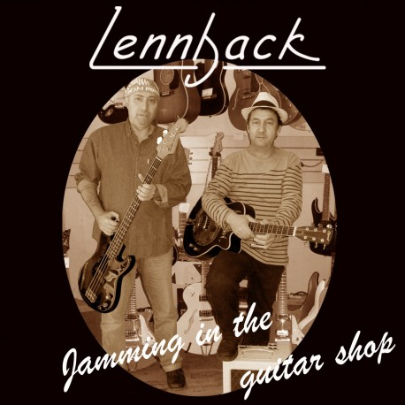 "CD 12 titres LENNBACK ""Jamming in the guitar shop"""