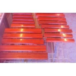Vernissage de clavier de xylophone 2,5 Octaves (padouk)